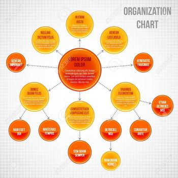 27942100-組織図インフォ-グラフィック-ビジネス泡円作業プロセス-ベクトル-イラスト.jpg